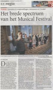 Recensie Musicallfoundation Brabants Dagblad